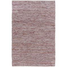 $153 RUNNER ~ Adams Reversible Rug, Berry