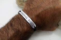 SPARTANS+AROO+-+Aluminum+Bracelet+for+Men+from+Aluminio+Passions+(Personalized+Aluminum+Items)+by+DaWanda.com