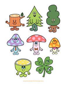 Love the Mushroom Graphic Illustration, Graphic Art, Skateboard Design, Mascot Design, Dibujos Cute, Kids Icon, Kids Prints, Sticker Design, Cute Drawings