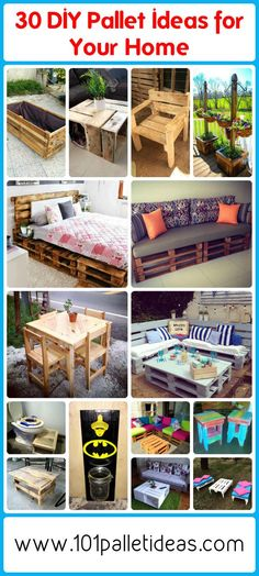 30 DIY Pallet Ideas for Your Home | 101 Pallet Ideas