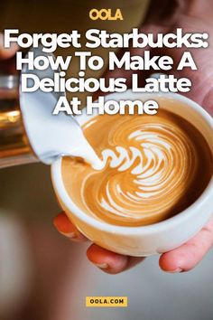 Forget Starbucks: How To Make A Delicious Latte At Home - drinks - Coffee Recipes Starbucks Vanilla Latte, Starbucks Caramel, Starbuck Vanilla Latte Recipe, Cappuccino Recipe, Cafe Latte Recipe, Nespresso Recipes, Latte Flavors, Easy Smoothie Recipes, Drink Recipes