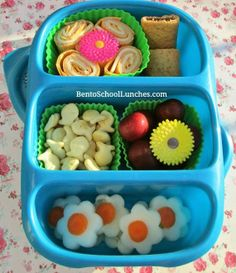 Roll-ups bento lunch. #goodbyn #lunchboxideas #bento https://www.facebook.com/BentoSchoolLunches