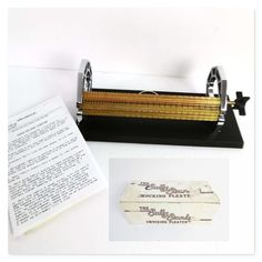 Sally Stanley Pleater Smocking Machine 24 Row with instructions and box Sally, Smocking, The Row, Reading, Box, Snare Drum, Reading Books