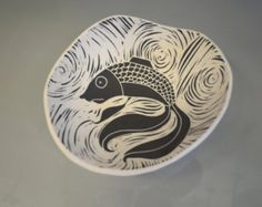 Fish Hanging Bow by Oxide Pottery in Lynchburg, Virginia