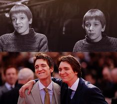 harry potter, james phelps, and oliver phelps image Mundo Harry Potter, Harry Potter Love, Harry Potter Characters, Harry Potter World, Fred Y George Weasley, Must Be A Weasley, Oliver Phelps, Phelps Twins, Weasley Twins