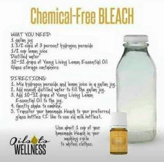 Chemical free bleach alternative. Supposed to say 35% hydrogen peroxide