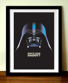 Star Wars Film Poster Print, Darth Vader, 11 x 17in (A3), giclée print  Prints , Posters ,CustomDesign
