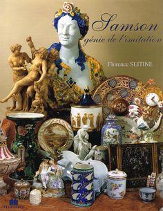 Samson, Paris, porcelain, European, ceramics, book