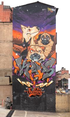 Bulldog - Street Dogs* on Behance