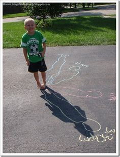what a great way to teach a kid about shadows and how they change throughout the day