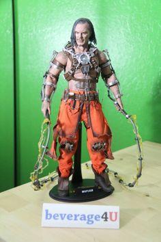 CUSTOM HOT TOYS IRON MAN 2 WHIPLASH 1/6th Scale figurine/Action Figure