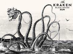 Kraken Illustrations by Steven noble