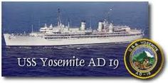 Proudly served on the USS Yosemite out of Mayport, Florida