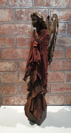 Powertex Angel by cazcraft designs High Low, Dresses, Design, Fashion, Cement Art, Angels, Gowns, Moda, La Mode