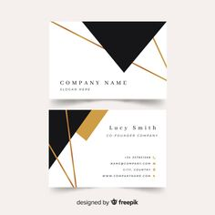 Modern and Clean business card design Business Cards Layout, Professional Business Card Design, Free Business Card Templates, Modern Business Cards, Business Design, Lawyer Business Card, Minimal Business Card, Corporate Design, Web Design