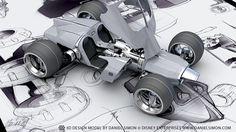 Tron: Legacy | Light Runner Design by Daniel Simon by Daniel Simon, via Behance