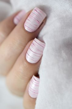 Sugar Spun nail art tutorial.