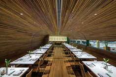 Completed in 2014 in Rio de Janeiro, Brazil. Images by Leonardo Finotti. This is the project for the restaurant Gurumê, which specializes on Japanese cuisine. The name is a witty play of the word 'gourmet' and aims to emit...