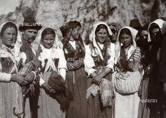 Women in traditional costume of Gallinaro, Frosinone
