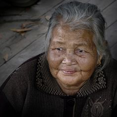 One smile from a million smiles in Laos by B℮n, via Flickr