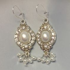 If you have an event to attend, but do not have any chic earrings to wear, then you should make these easy and stunning 10 Minute Pearl and Crystal Earrings. This free DIY jewelry tutorial teaches you how to make earrings in ten minutes and with only seven materials.