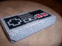 DS case!  Suddenly plastic canvas seems like an area of crafting I may want to explore....