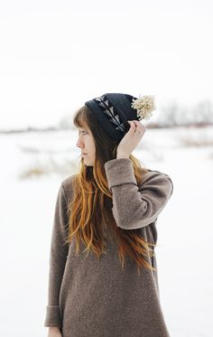 DIY Hat From An Old Sweater @The Merrythought