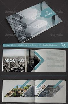 Welcome Brochure - Architect Branding, Publication, Brochure Design