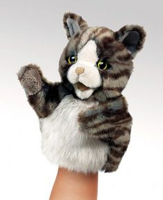 PuppetU.com - Folkmanis Little Cat Stage Puppet 7 inches - RETIRED, $15.99 (http://store.puppetu.com/folkmanis-little-cat-stage-puppet-7-inches-retired/)