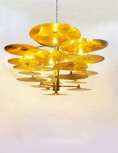 Cymbals Chandelier