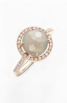 KALAN by Suzanne Kalan Round Stone & Sapphire Ring available at #Nordstrom