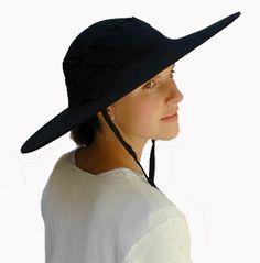 Collapseable cotton sun hat - $9.95