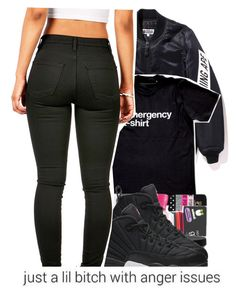 """Saturday "" by baaaditori ❤ liked on Polyvore featuring NIKE"