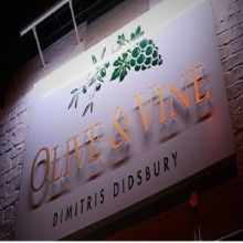 tastecard gives Off Food at Olive and Vine - Dimitris Didsbury in Didsbury, Manchester. Olive And Vine, South Manchester, Vines, Neon Signs, Restaurants, Lifestyle, Restaurant, Arbors, Grape Vines
