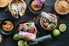 Gezonde Vietnamese veggie Spring Rolls | Freshhh