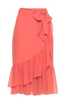 Saia Crepe Babados Rubi A Line Skirt Outfits, Dance Outfits, Short Lace Bridesmaid Dresses, Embroidery Fashion, Mode Hijab, Cute Skirts, Dress Suits, Designer Dresses, Fashion Dresses