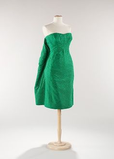 Dress Yves Saint Laurent for Dior, 1959 The Metropolitan Museum...