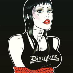 Discipline tank top  Brooke Candy tribute 🙌🏻