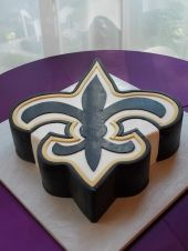 of our cake will be Saints Wedding 2017, Our Wedding, Dream Wedding, Wedding Ideas, Baker Man, Saints Football, Groom Cake, Cakes For Men, Big Party