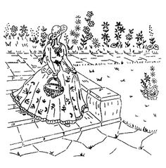 Sue southern belle patterns google s gning lady for Southern belle coloring pages