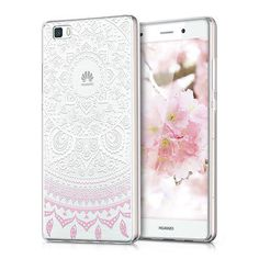 TPU SILICONE CRYSTAL CASE FOR HUAWEI P8 LITE WHITE SOFT COVER BUMPER SILICON