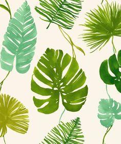motifs feuillage dessin images pinterest motifs tropical et foison. Black Bedroom Furniture Sets. Home Design Ideas