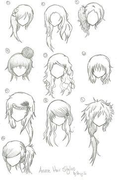 Frisuren zeichnen mann