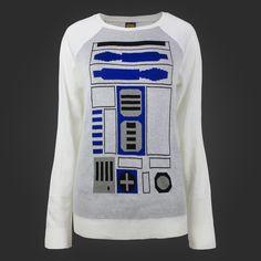 I Am R2D2 Intersia Sweater