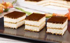 Madártej szelet sütés nélkül recept fotóval No Bake Treats, Tiramisu, Cheesecake, Baking, Ethnic Recipes, Food, Cheesecakes, Bakken, Essen