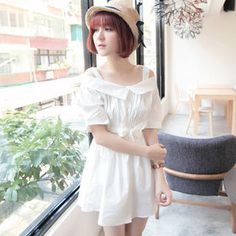 Buy 'Tokyo Fashion – Off-Shoulder Tie-Waist Dress' at YesStyle.com plus more Taiwan items and get Free International Shipping on qualifying orders.