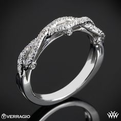 This Diamond Wedding Ring is from the Verragio Insignia Collection. It features 0.25ctw of Round Brilliant Diamond Melee (F/G VS) and will be a terrific addition to your Engagement Ring of choice. The width tapers from 3.7mm at the top down to 2.3mm at the bottom. Please allow 4 weeks for completion. Platinum rings carry a 5 week turnaround time. If you have any questions regarding this item then please contact one of our friendly diamond and jewelry consultants at 1-877-612-6770. INS-7050W