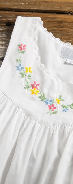 The Grommet team discovers Haiti Projects Nighties; beautifully hand embroidered cotton nightgowns made by a group of women in Haiti.