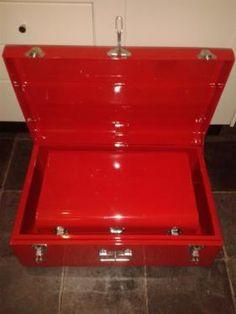 Marvelous Solln eBay Kleinanzeigen Metall Truhen Koffer B cm cm rot Neu Deko in