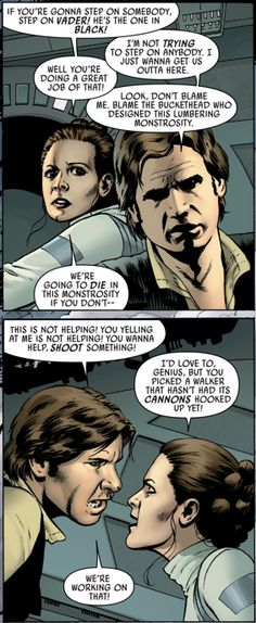 Read this in the voices of Sterling and Lana from the series Archer. You'll thank me for it!